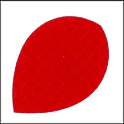 Oval roja