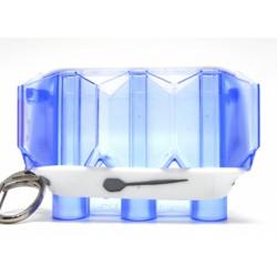Dardera llavero L-Style Kristal azul