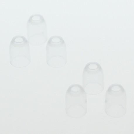 Champagne Ring L-Style trans. cristal, bolsa 6 unid.
