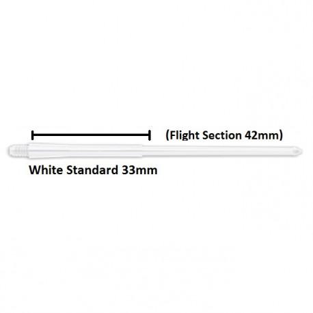 Caña Stealth 33mm Blanca