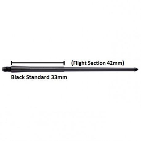 Caña Stealth 33mm Negra