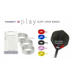 Target Anillo aluminio fijación plumas negro