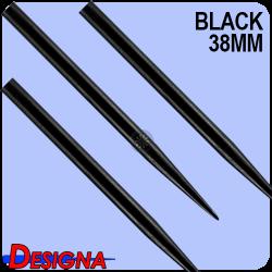 Puntas de acero Designa plateadas 32mm