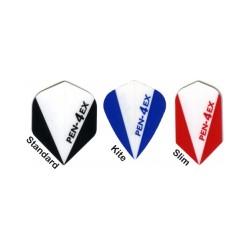 Kite Pen-EX azul/blanca