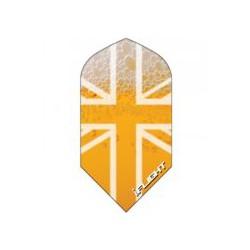 Slim británica amarilla