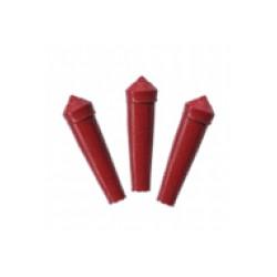 Protector plastico para plumas color ro