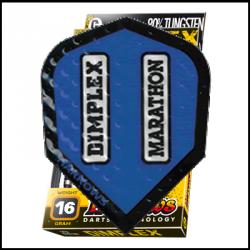 Standard Dimplex azul contorno negro